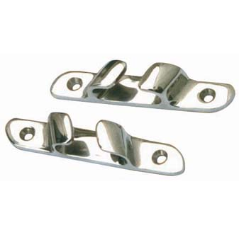6062S - Angled Bow Chocks 316 Stainless Steel (pair) 10/15