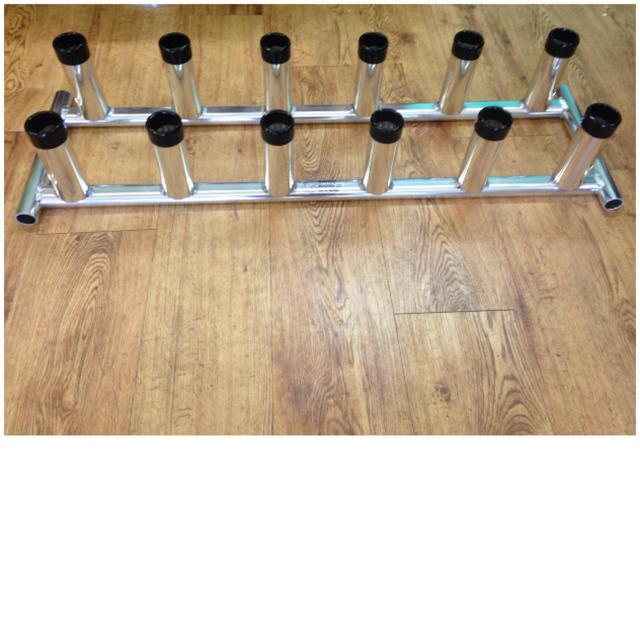 138 - 12 or 6 Rod Storage Rack Wahoo 1/19