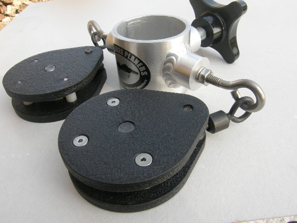 GLP-044A - Dual Pulley and Bracket Assembly
