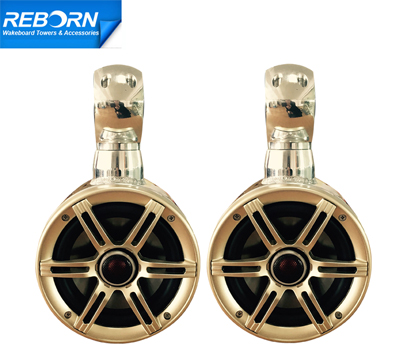 215 - Pair of Reborn Single Rotatable Wakeboard Speaker 6 1/2in