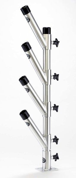 GLP-015 - Vertical Stack Quad 4 Rod Holders 12/18