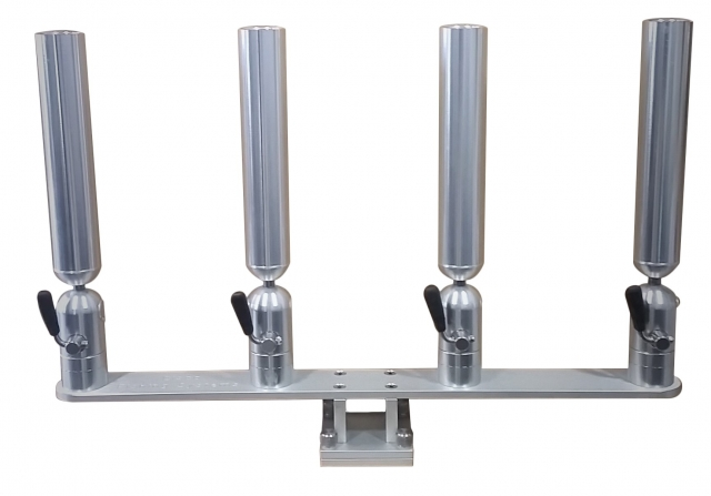 PKQTS - Cisco Quad Rod Holder on Thumbscrew Mount 2/19