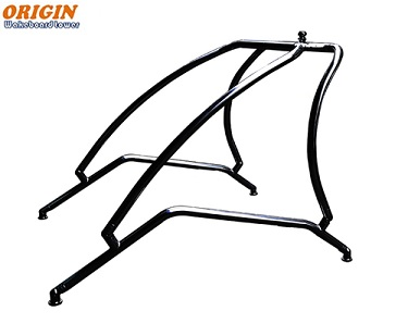 106/147 - Wakeboard Tower Polished Shinny or Glossy Black - ORIGIN Catapult 3/17