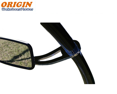 54/212 - Wakeboard mirror arm Black Coated or Polished Shine -Origin OWT-MAIB  3/17