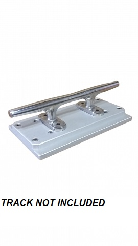 XPCLT - CISCO TRACK CLEAT - 6 Stainless Steel Cleat on Track Mount  2/19