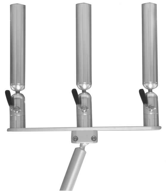 PKTGM-SS - Cisco Triple Rod Holder on Gimbal Mount - Straight Slot 2/19