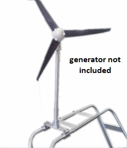 FOS-100-30 - Boat Arch Mount for Wind Generator FOS  9/19