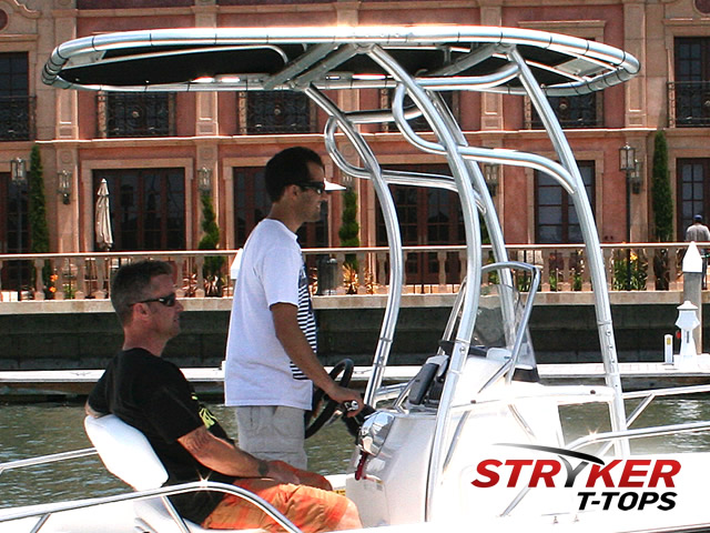 Boat T Tops Center Console T Tops Fold Down Lay Down T